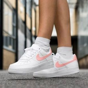 Nike Air Force 1 Oracle Pink Women Sz 9 New